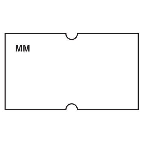 DayMark IT110433 MoveMark Date Coder Blank Removable Label, For DM3 SpeedyMark 10 1-Line Marking Gun, White (Pack of 8 Rolls)
