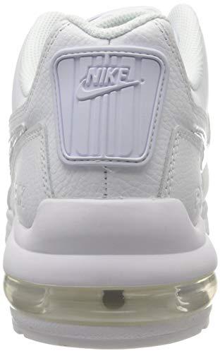 Nike Mens Air Max Ltd 3 Sneaker, White White White, 44.5 EU 3