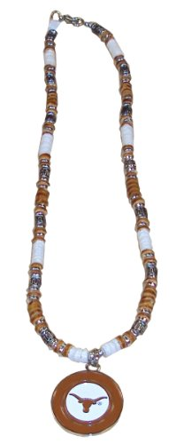 NCAA Texas Longhorns Shell Necklace, 18-Inch, White