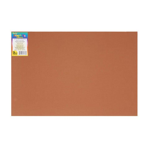 Better Crafts FOAMIE SHEET COCOA 2MM 30CMX45CM (10 pack) - Cocoa 700