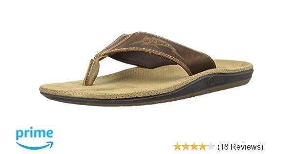 2a6f1e658b77 Margaritaville Footwear Men s Marlin Thong Flip-Flop