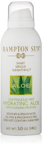 Hampton Sun Hydrating Aloe Continuous Mist, 5 oz by Hampton Sun