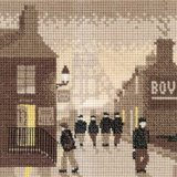 Heritage Crafts Silhouettes Series - Late Shift Counted Cross Stitch Kit 14 count aida by Heritage Crafts ()