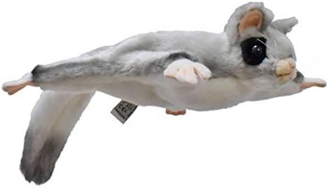 Hansa Grey Sugar Glider 22cm