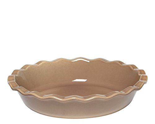 Emile Henry Made In France 9 Inch Pie Dish, Oak