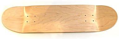 Blank Control Planche de skateboard haute qualit/é avec rev/êtement antid/érapant Low Concave 7,50 /à 8,50