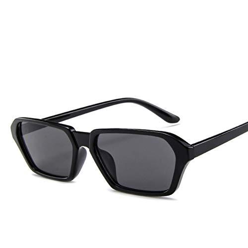 JFSJDF Red Goggles Cat Women Sunglasses Men Eye Glasses Retro Fashion Steampunk Ladies Vintage Small Square ()