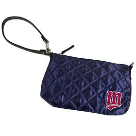MLB Minnesota Twins Quilted Wristlet