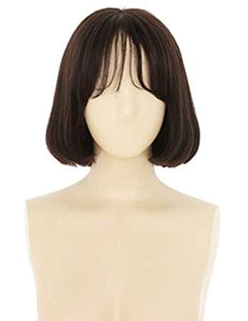 Perücke Mädchen Frisur Luft Dünn Pony Weibliche Kurze Haare