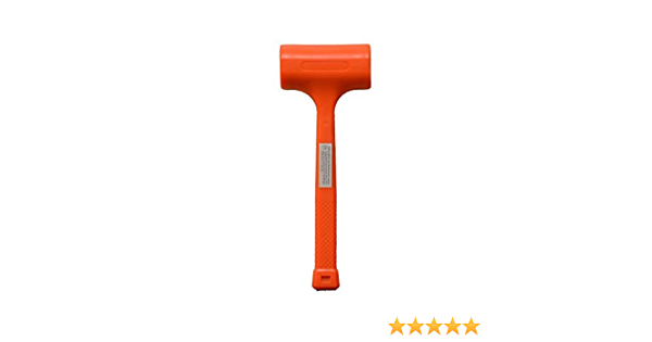 Dead Blow Hammer 4 Pound Amazon Com Change out the faces when they become worn. amazon com