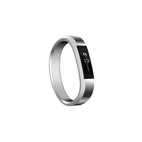 810351025467 - Fitbit Alta, Accessory Band, Metal Bracelet, Silver, One Size carousel main 2