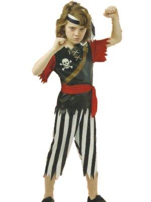 Kids Pirate King Pirate Costumes (Boys Pirate King Costume Large 10-12)