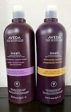 AVEDA Invati Shampoo and Conditioner Set salon product BB 33.8oz Liter