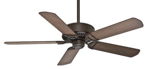 Casablanca Indoor Ceiling Fan, with remote control - Panama 54 inch, Cocoa, 59512 ()