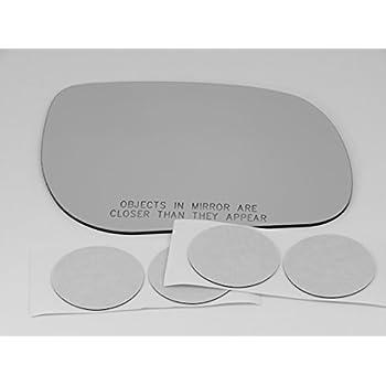 Fits 06-12 Toyota Rav4 Right Passenger Convex Mirror Glass Lens  w//Adhesive   US