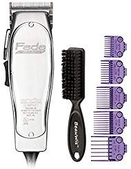 Andis Professional Fade Master Hair Clipper with Adjustable Fade Blade with a Andis Master Dual Magnet 5-Comb Set with a BeauWis Blade ()