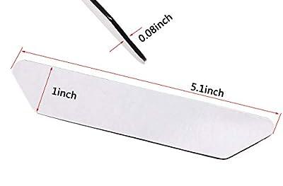 Mini Skater 16 Pcs Rug Grips Black Anti Slip Reusable Gripper Stoppers for Carpet Floors Kitchen Bathroom Hardwood Tiles