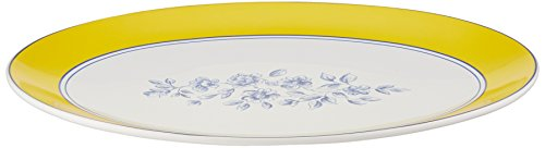 Dinnerware Spring Prelude Collection Oval Platter, 14-Inch ()