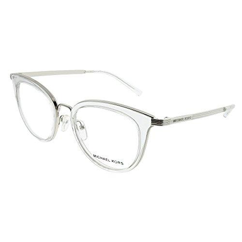 Michael Kors ARUBA MK3026 Eyeglass Frames 3050-50 - Silver ()