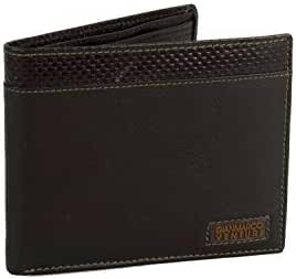 Wallet man GIANMARCO VENTURI moro in leather with coin purse A5702