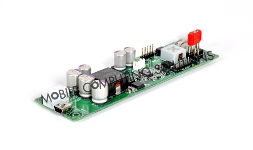 DCDC-USB, Intelligent DC-DC converter with USB interface; Convert any Voltage (6-34VDC) into ANY Voltage (5-24VDC) from your Computer under USB control. High current, up to 10A; Driver and example programs available by Mini-Box