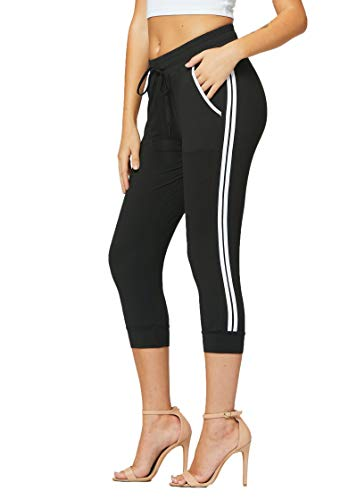 Conceited Premium Ultra Soft Jogger Sweatpants with Pockets for Women - High Waisted - 8 Colors
