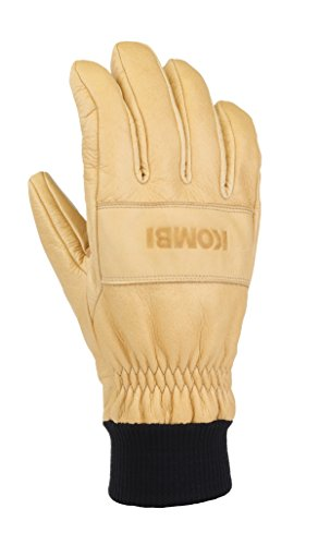 Kombi Insulated Gloves - Kombi Men's Transient Cold Weather Gloves, X-Large, Wheat