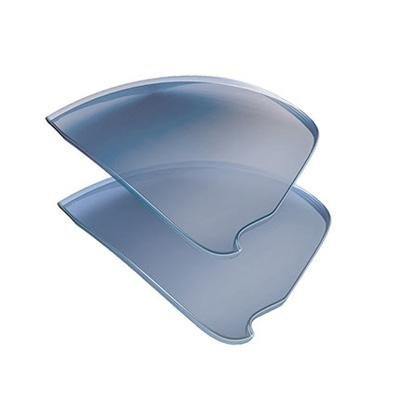 NIKE Show X2 Sunglass Replacement Lenses - EVA124/EVA126 (Grey w/Blue Flash) ()