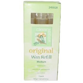 Clean & Easy Wax Refill 3-pack Medium *