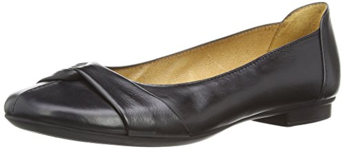 Gabor Women's Frost Ballet Flats Black (Black Leather) (04.111_27) DgSHYh7eqG