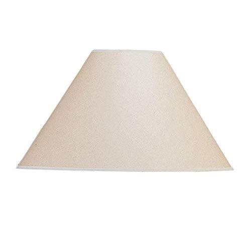Cheap Cal Lighting SH-8109-17-KF 11 in. Vertical Basic Coolie Linen Hardback Shade, Kraft