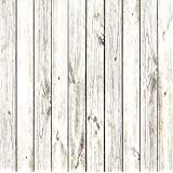 StudioPRO Heavy Duty Photography Vinyl Backdrop Background Picturesque White Wood Floor -3'x3'