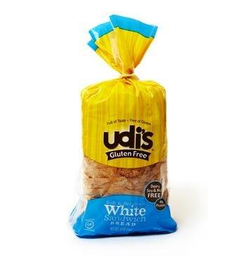 Udi's Gluten Free White Sandwich Bread (1 Case)