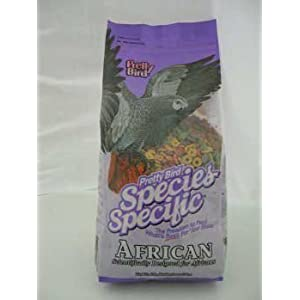 Pretty Bird International Bpb73313 Species Specific African Bird Food With Extra Calcium, 3-Pound 89