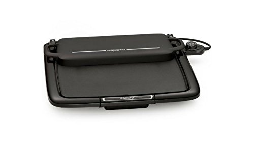 Serve Continental Cover (Presto Electric griddle Griddle with Multi-function Warming Tray Cast Aluminum Construction)