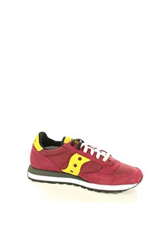 Saucony Rojos Jazz De S2044 Las Zapatos Amarillo Original Zapatillas Deporte Hombre 415 Cordones Giallo Bordeaux XtwXArq