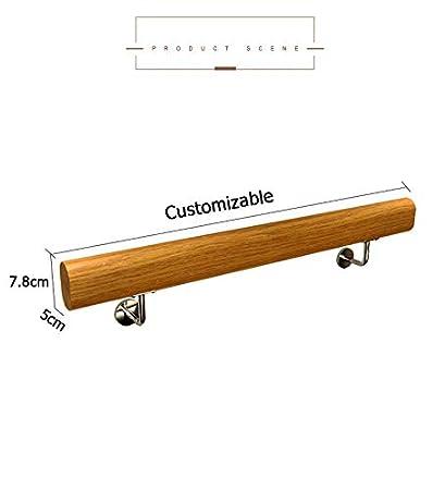 int/érieurs et ext/érieurs Mains courantes en Bois pour Villas Rails de s/écurit/é Main Courante Main Courante au Sol lofts et int/érieurs 80cm /à 600 cm