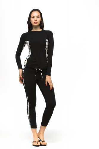[STORAGE BIG SALE until 5TH FEB] Private Island Hawaii Women UV Rash Guard Long Pants Leggings, Outdoor Clothing / RGP