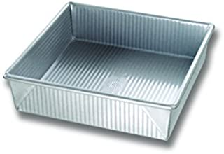 product image for USA Pan 6406938 9 x 9 in Nonstick Surface Steel Square Cake Pan 12 Cups - Pack of 6