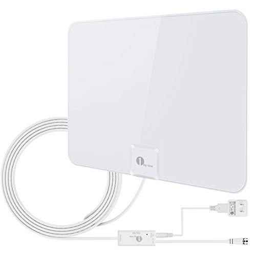 The Best Hdtv Antenna Indoor 100 Mile Range White