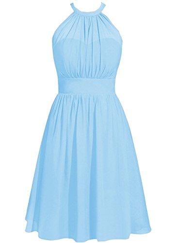 ModeC Bridesmaid Dress Party Gown Wedding Guest Dresses Halter ...