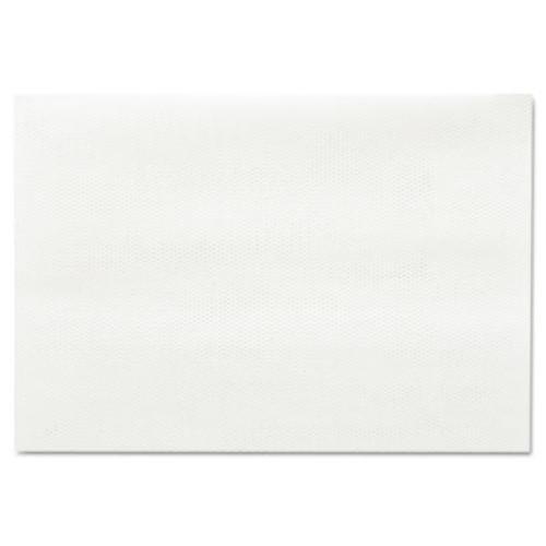 Chicopee 930 17'' Length x 12'' Width, Chix Masslinn White Shop Towel (Case of 1200)