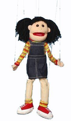 Hispanic Girl Marionette