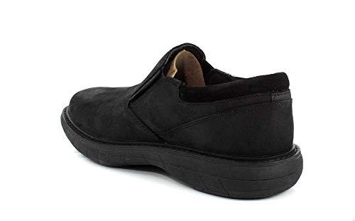 Mens On Merrell Moc Vue Black Slip World dq8Sw81