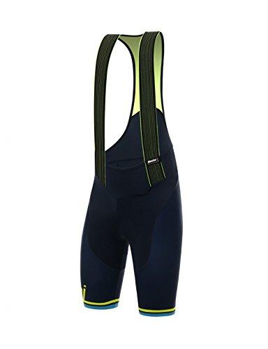 - Santini Men's Tono 2.0 Bib Shorts, Flouro Yellow, X-Large