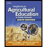 Handbook on Agricultural Education in Public Schools (08) by Phipps, Lloyd J - Osborne, Edward W - Dyer, James E - Ball, A [Hardcover (2007)]