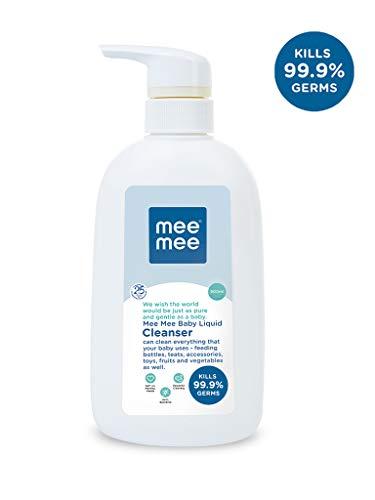 Mee Mee Anti-Bacterial Baby Liquid Cleanser (Cleanser – 500 ml – Bottle)