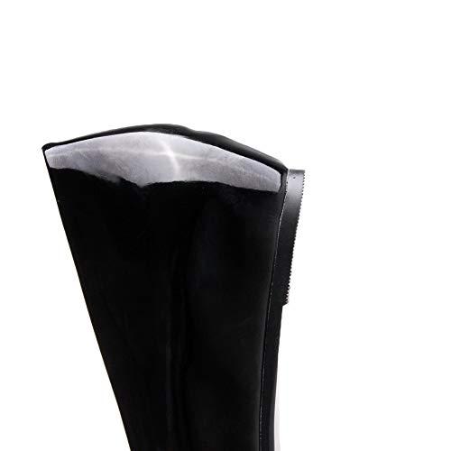 5 EU Sandales Noir Compensées AN DGU00724 Femme 36 Noir x0H8n7gq5