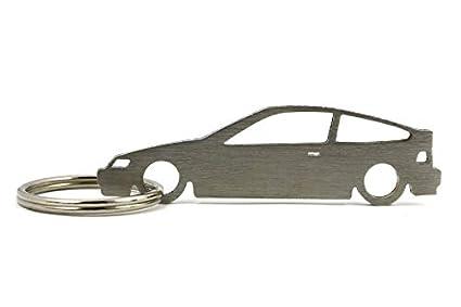 Boostnatics Silhouette Llavero para Honda Civic CRX: Amazon ...