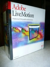 Adobe Livemotion 1.0 Competitive/Companion Upgrade [Old Version] by Adobe